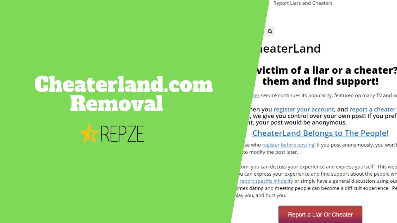 Cheaterland.com Removal